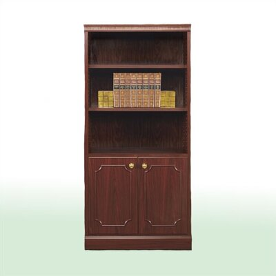 "High Point Furniture Bedford 72"" H Two Door Bookcase Wall Unit"