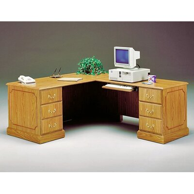 High Point Furniture Wyndham Executive L-Shaped Workstation