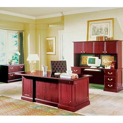 High Point Furniture Wyndham Standard Desk Office Suite