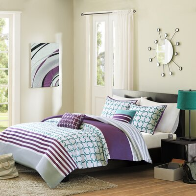 Intelligent Design Halo Comforter Set