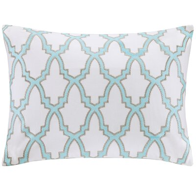 Embroidered Oblong Pillow