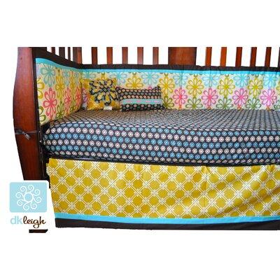 vintage floral piece crib bedding set