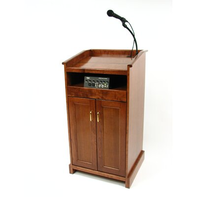 Executive Wood Products Collegiate Evolution Sound System Lectern