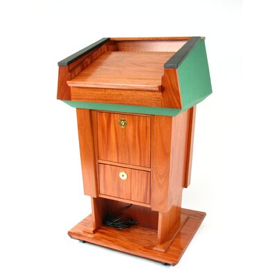 Executive Wood Products Presidential Evolution Lift Full Podium