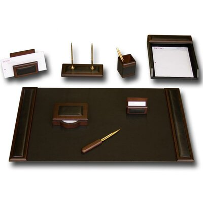 Dacasso Leather 8-Piece Desk Set
