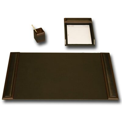 Dacasso Leather 3-Piece Desk Set