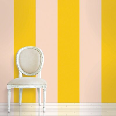 WallCandy Arts Stripe Wallpaper in Sorbet