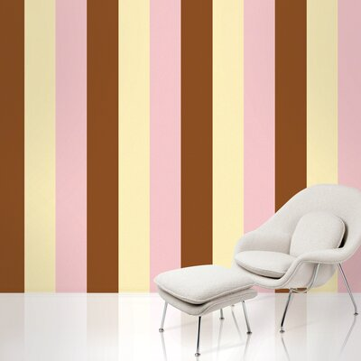 WallCandy Arts Stripe Wallpaper in Neapolitan