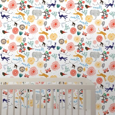 WallCandy Arts Wee Gallery Jungle Removable Wallpaper
