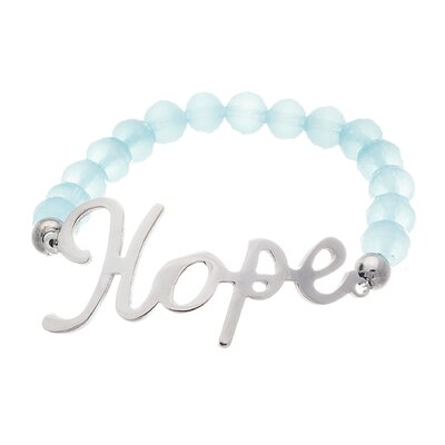 Hope Stretch Beaded Bracelet