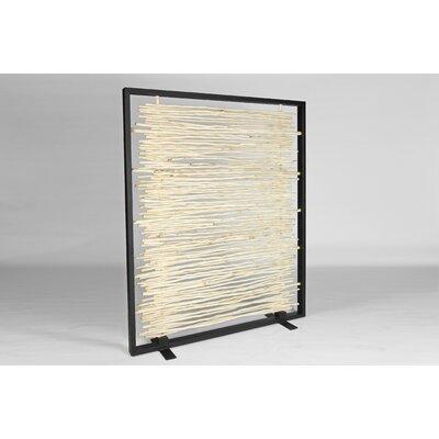 Urbia Naturals Bleached Driftwood Framed Screen