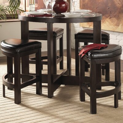 3219 series 5 piece counter height dining set reviews wayfair