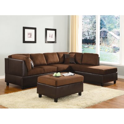 Woodbridge Home Designs Comfort Living Modular Sectional
