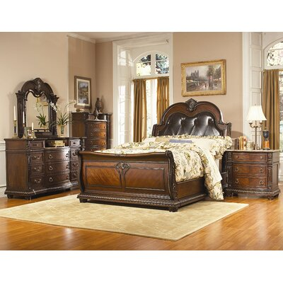 Woodbridge Home Designs Palace Sleigh Bedroom Collection
