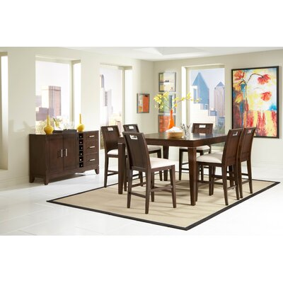 Woodbridge Home Designs Keller Counter Height Dining Table