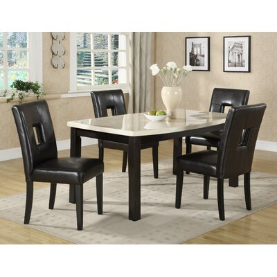 Woodbridge Home Designs Archstone 5 Piece Dining Set