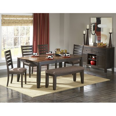 Woodbridge Home Designs 5341 Series 6 Piece Dining Set