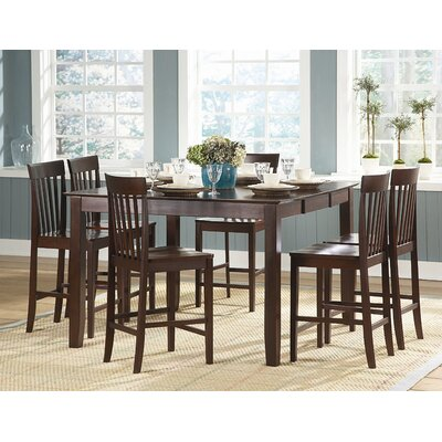 Woodbridge Home Designs Tully Counter Height Dining Table