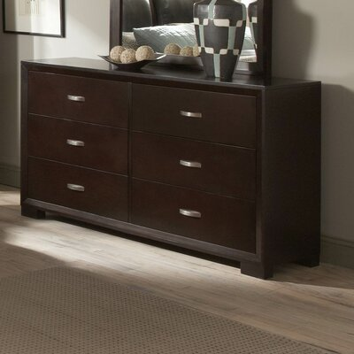 Woodbridge Home Designs 1313 Series 6 Drawer Dresser