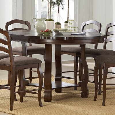 Woodbridge Home Designs Arlington 7 Piece Counter Height Dining Set