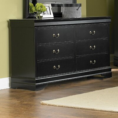 Woodbridge Home Designs Marianne 6 Drawer Dresser