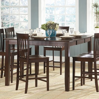 Woodbridge Home Designs Tully 7 Piece Counter Height Dining Set