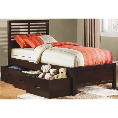 Woodbridge Home Designs Paula II Captain's Bed with Drawers