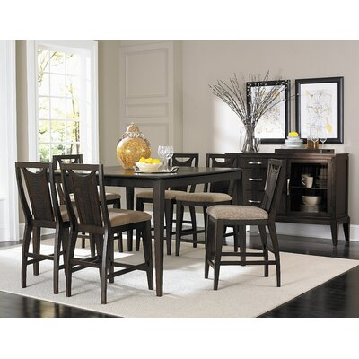 Woodbridge Home Designs Daytona 7 Piece Counter Height Dining Set