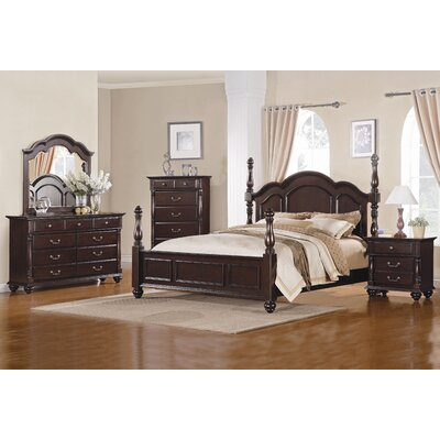 Townsford four poster bedroom collection wayfair for Annifern poster bedroom collection