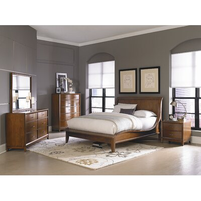 Woodbridge Home Designs Kasler Sleigh Bedroom Collection