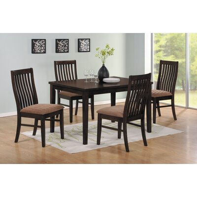 Woodbridge Home Designs Hale Slat Back Side Chair