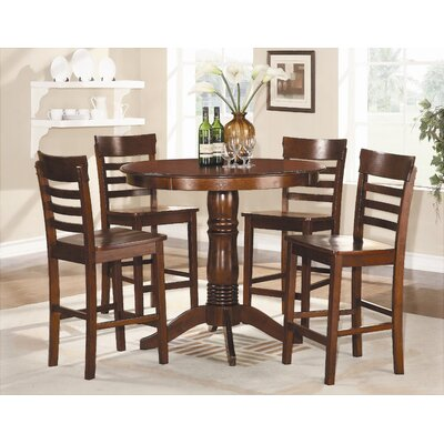 Woodbridge Home Designs Wayland 5 Piece Counter Height Dining Set