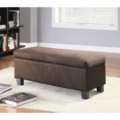 Woodbridge Home Designs Clair New Fabric Bedroom Storage Ottoman