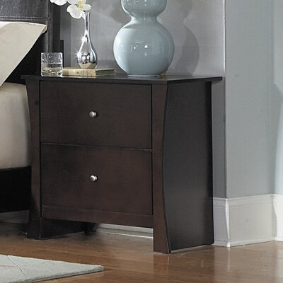 Woodbridge Home Designs Avelar 2 Drawer Nightstand