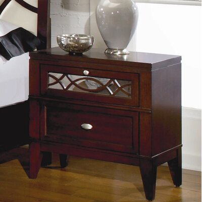 Woodbridge Home Designs Simpson 2 Drawer Nightstand