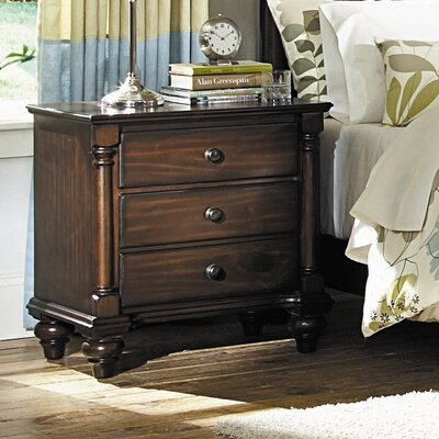 Chaplin 3 Drawer Nightstand