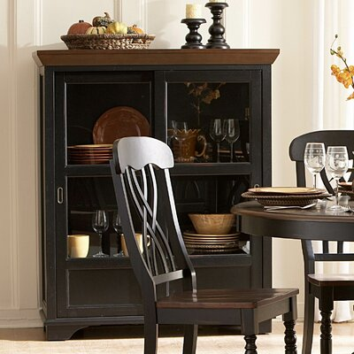 Woodbridge Home Designs Ohana Curio Cabinet Reviews Wayfair