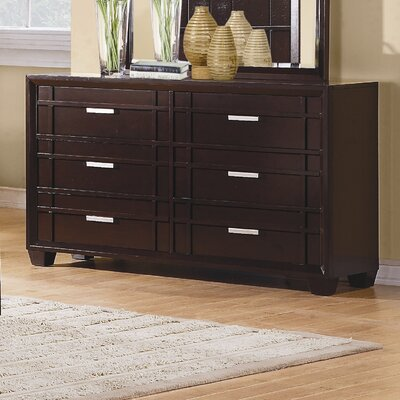 Lewiston 6 Drawer Dresser
