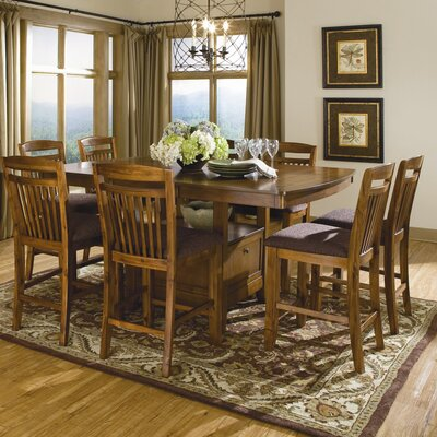woodbridge home designs marcel 9 piece counter height dining set