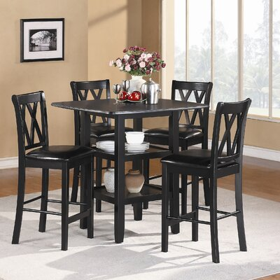 designs norman 5 piece counter height dining set reviews wayfair