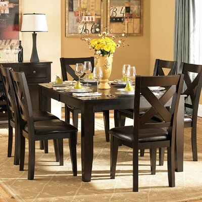 Woodbridge Home Designs Crown Point 7 Piece Dining Set