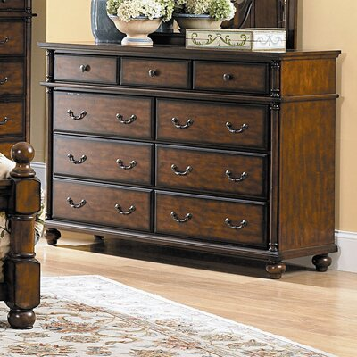 Woodbridge Home Designs Langston 8 Drawer Dresser