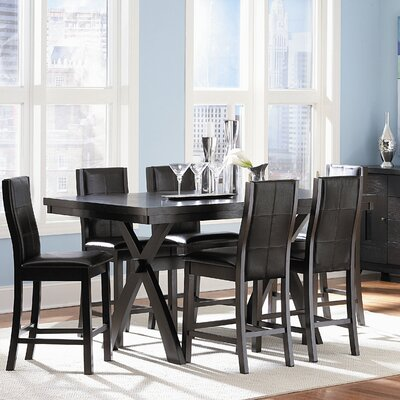 Woodbridge Home Designs Sherman 7 Piece Counter Height Dining Set