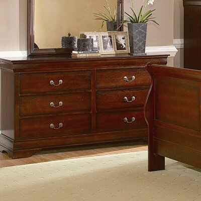 Chateau 6 Drawer Dresser