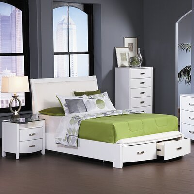 Woodbridge Home Designs Lyric Sleigh Bedroom Collection