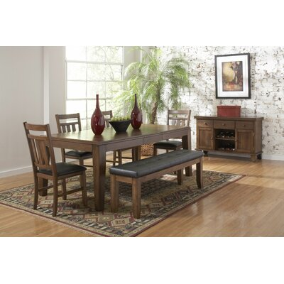 Woodbridge Home Designs Kirtland Wooden Kitchen Bench Reviews Wayfair