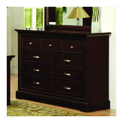 Woodbridge Home Designs 1349 Series 9 Drawer Dresser