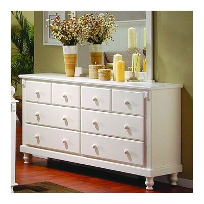 Woodbridge Home Designs 875 Series 6 Drawer Dresser