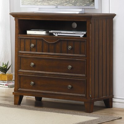 Alyssa 3 Drawer Media Dresser