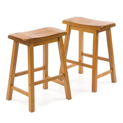 Woodbridge Home Designs 5302 Series Stool in Oak